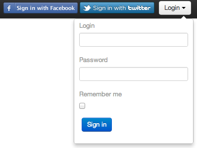 Creating a Login Form via Bootstrap Navbar Dropdown - Michael Welburn