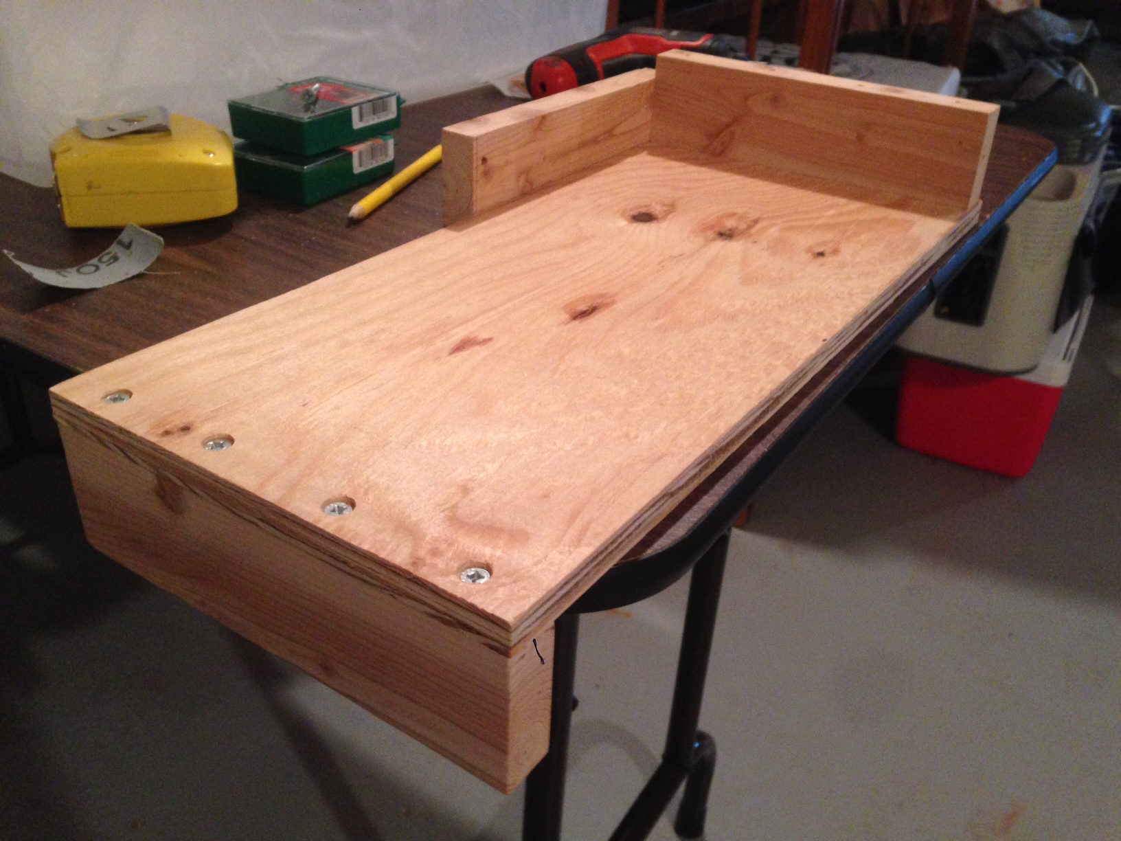 Building a portable bracing table for relief carving michael welburn