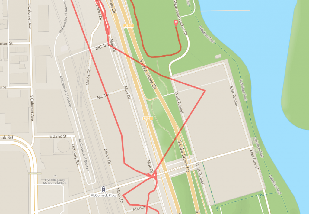 Interesting RunKeeper route