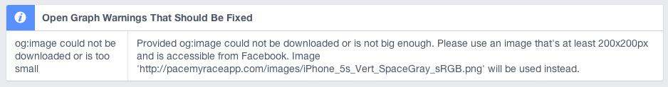 Facebook validator